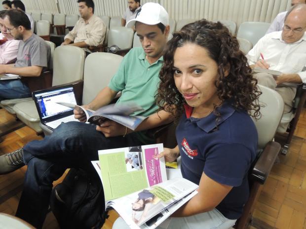 Tatiana Nunes está animada com a participação da Plamoc na FENICS