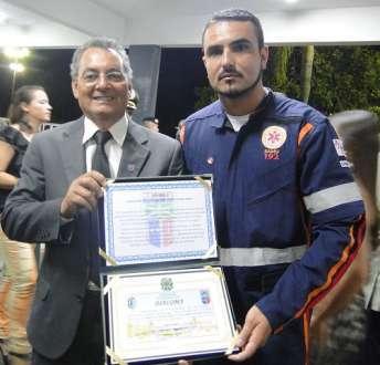 Montes Claros - SAMU recebe título de Amigo do Exército