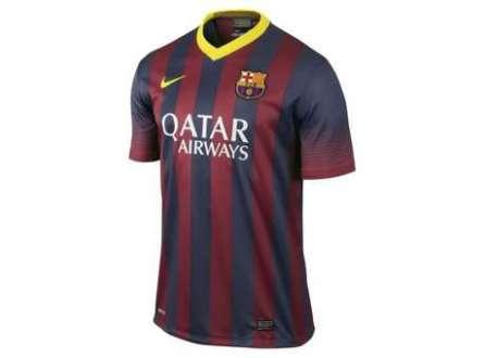 Camisa de jogo do Barcelona custa até 231% mais cara em diferentes sites