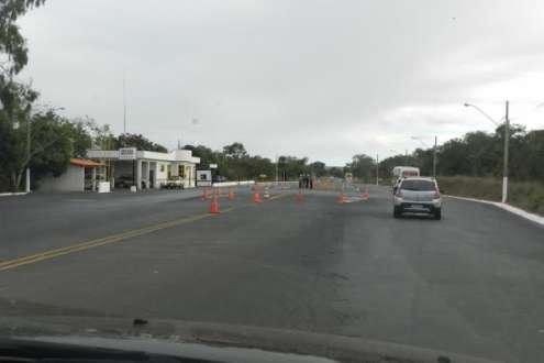 Norte de Minas - Balança da Polícia Militar em Mirabela é fechada