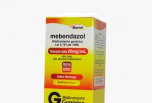 MEBENDAZOL 20MG/ML