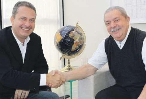 Eduardo Campos, foi ministro de Ciência e Tecnologia do governo Lula