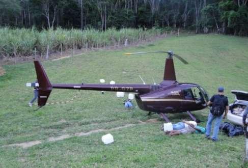Helicóptero do deputado Gustavo Perrella foi apreendido em novembro de 2013 com 443 quilos de cocaína