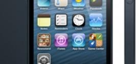Lançado em setembro de 2012, a Apple iPhone 5 conta com uma tela de quatro polegadas, conexão 4G e memória RAM de 1GB; o armazenamento do modelo vai de 16 GB a 64 GB