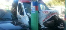 Montes Claros - Ambulância do Samu se envole em acidente na Avenida Dr. João Luís de Almeida Foto- Ascom Samu Macro Norte