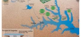 obra da barragem de Congonhas