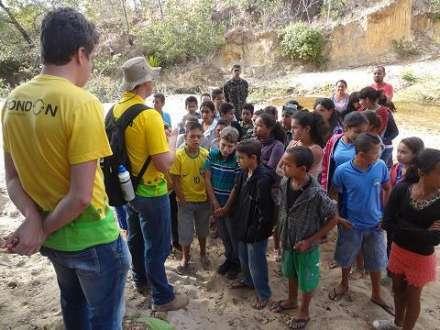 Norte de Minas - Rondonistas realizam atividades na comunidade de Catuni, em Francisco Sá
