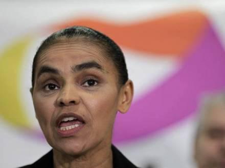 Eleições 2014 - Marina rebate Aécio e Dilma e prega 'sonho amador'