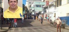 Taxista foi morto no Centro de Salinas – Foto: Folha Regional