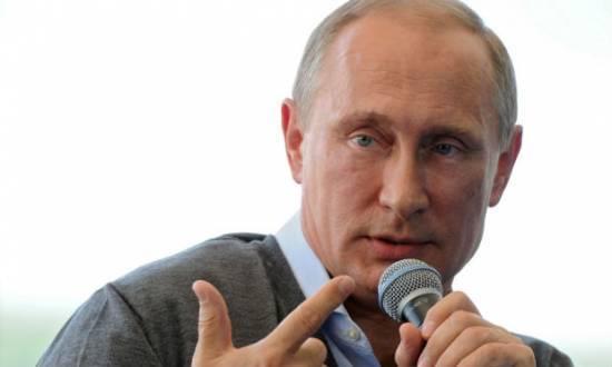 """Presidente russo apelou várias vezes a Kiev e aos separatistas pró-Moscou do leste da Ucrânia para que iniciem negociações """"substanciais"""" com o objetivo de acabar com o conflito, que começou em abril"""