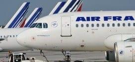 Todos os passageiros cujos voos foram cancelados podem pedir reembolso integral do valor da passagem; na quarta-feira, a Air France anunciou o cancelamento da expansão de sua filial de baixo custo, a Transavia