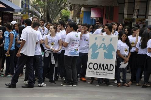 Montes Claros - COMAD organiza movimento para combater violência no trânsito e uso de drogas