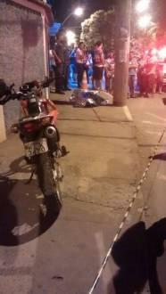 Montes Claros - Motociclista morre ao bater em poste na Avenida Cula Mangabeira