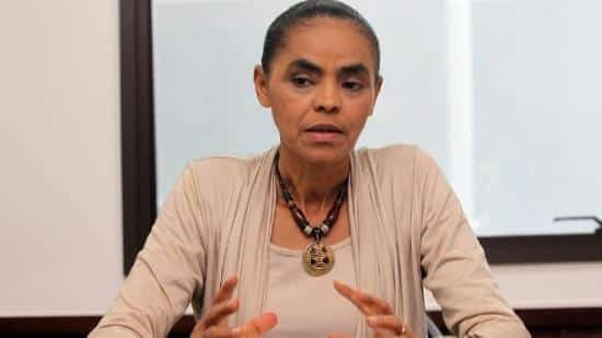 Eleições 2014 - Marina diz que não está preocupada com pesquisa