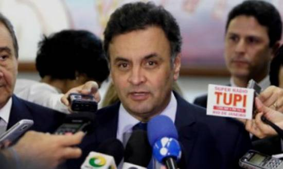 De acordo com o tucano, corrupção é a marca do governo Dilma