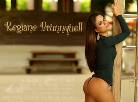 Super Gata do Dia – Regiane Brunnquell