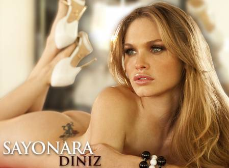 Super Gata do Dia – Sayonara Diniz