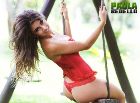 Super Gata do Dia – Paula Rebello