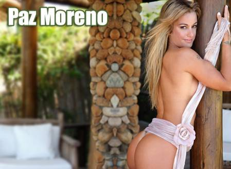 Super Gata do Dia – Paz Moreno
