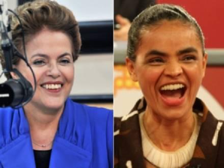 Eleições 2014 - Segundo turno tem empate técnico entre Marina e Dilma