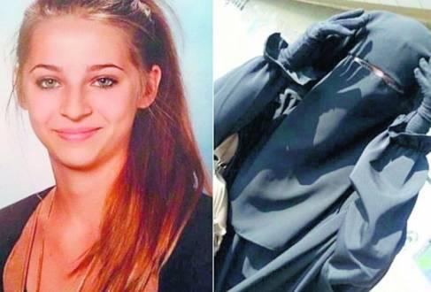 Sumiço. Samra Kesinovic, 16, que é filha de bósnios e fugiu de Viena em abril, postou foto com véu