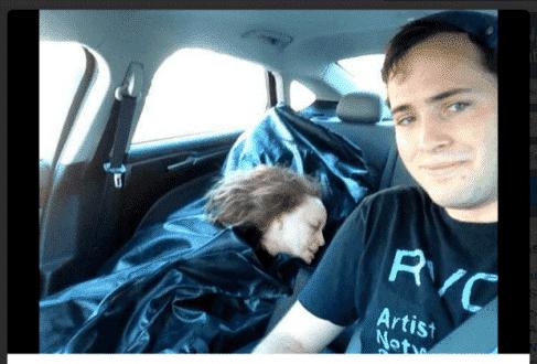 Post de 'homem roubando cadáver da namorada' vira viral