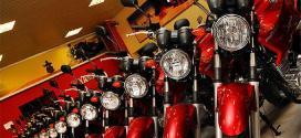 Venda de motocicletas cai 8% em agosto