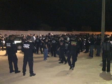 MG - Operação da Polícia Civil de Curvelo, preende 17 pessoas
