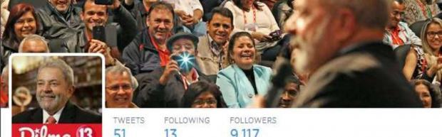 Eleições 2014 - A um mês das eleições, Lula estreia perfil no Twitter