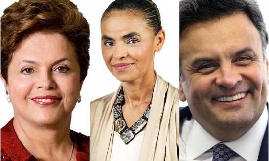 Dilma, Marina e Aécio seguem em disputa acirrada pela preferência do eleitor brasileiro