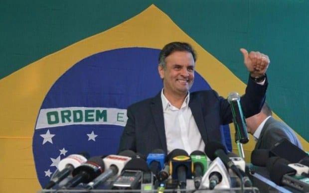 Eleições 2014 - Os sonhos de Campos passam a ser os meus sonhos, diz Aécio