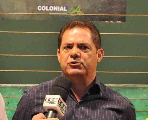 José Aparecido Mendes Santos, presidente da Aspronorte: adiar para dezembro a vacinação no rebanho mineiro contra a aftosa. Foto Paulo & Galego