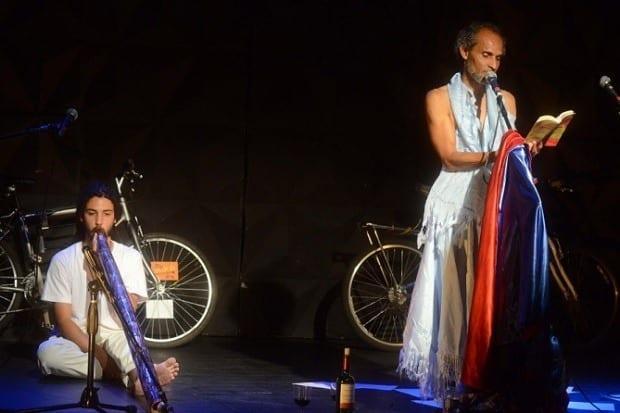 """O espetáculo """"eu sou da sua laia"""" também foi apresentado em Belo Horizonte, no Sesc Palladium, em setembro"""