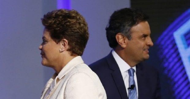 Eleições 2014 - Dilma e Aécio decidem presidência no segundo turno