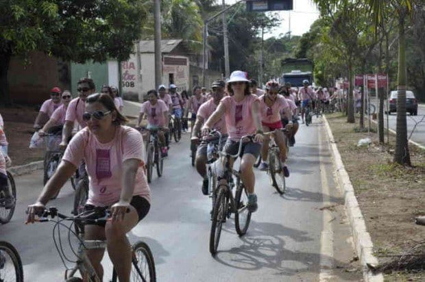 Passeio Ciclístico Outubro Rosa - Foto Andréia Pereira