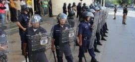 Montes Claros - Guarda Municipal realiza simulação de combate a distúrbios civis