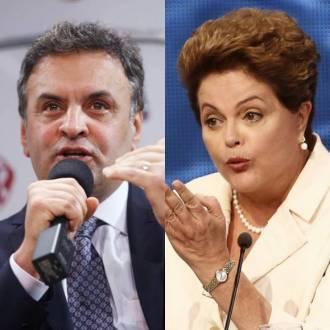 Eleições 2014 - Ibope repete Aécio com 51% dos votos válidos e Dilma com 49%