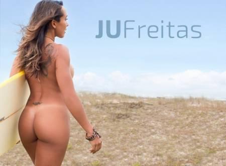 Super Gata do Dia – Ju Freitas