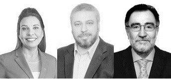 Candidatos eleitos a deputado federal; Raquel Muniz, Laudívio Carvalho e Patrus Ananinas