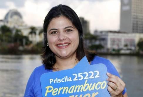 Priscila Krause (DEM) conseguiu uma vaga na Assembleia Legislativa após receber 47.882 votos