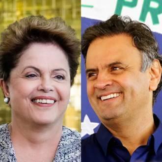 Eleições 2014 - Pesquisas mostram Dilma à frente de Aécio e fora da margem de erro