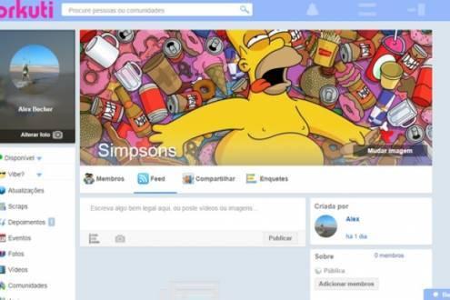 Rede tem visual muito parecido com o extinto Orkut.