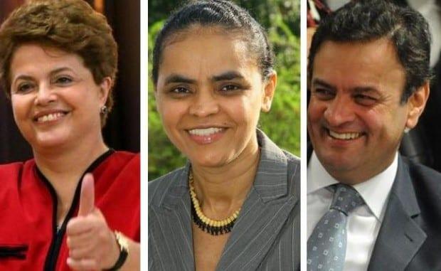Eleições 2014 - Marina telefona a Aécio e Dilma mas não fala sobre apoio no 2º turno