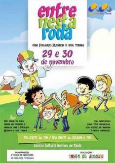 Entre nesta roda - Espetáculo teatral infantil no Centro Cultural Hermes de Paula