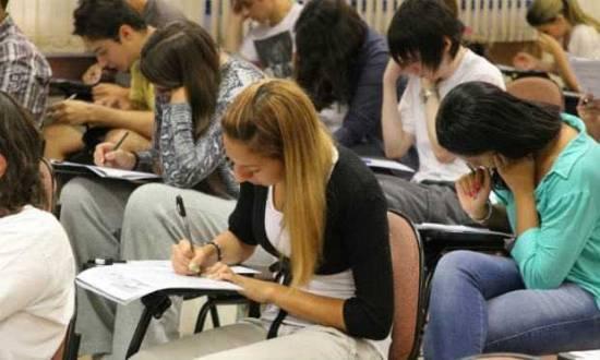 A adesão ao exame continua crescendo, inclusive na porcentagem de vagas.