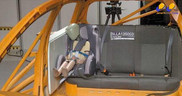 Motor - Teste mostra falhas nas cadeirinhas para bebês e crianças