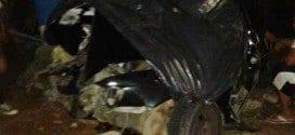 Norte de Minas - Acidente na MG-401 entre Janaúba e Verdelândia deixa uma pessoa morta e 5 feridos