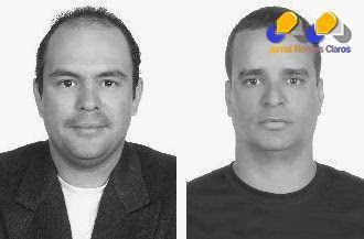 Itamar Magalhães Viana (esquerda) e Claudio Jorge Santos Azevedo
