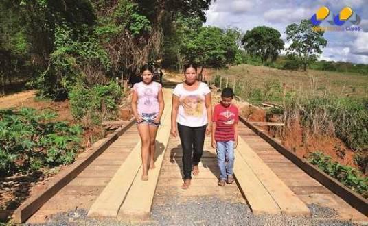 Montes Claros - Pontes e estradas da zona rural de Montes Claros passam por melhorias