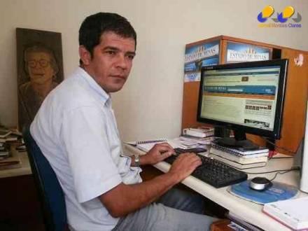 O jornalista norte-mineiro Luiz Ribeiro ganhou duas premiações na mesma edição do Prêmio